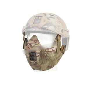 タクティカルハーフ プロテクティブマスク ハーフフェイスマスク Mandrake マンドレイクタイプ迷彩 【BD6641C】|million