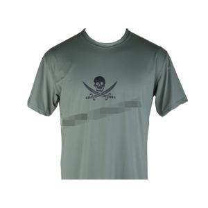 EMERSON製 NAVY SEALs クロスソードスカル 速乾 Tシャツ フォリッジグリーン FG million