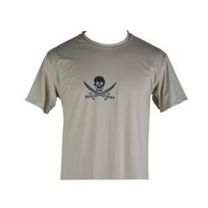 EMERSON製 NAVY SEALs クロスソードスカル 速乾 Tシャツ カーキ KH million