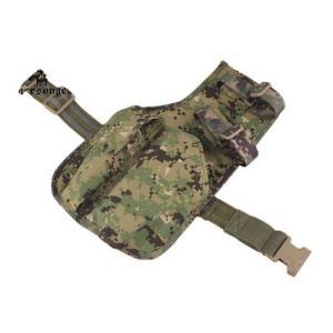 EMERSON製 MP7用 ドロップレッグ レッグホルスター サイホルスター AOR2 SEALs採用タイプ迷彩 million