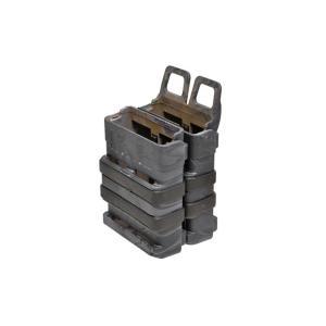 EMERSON製 MOLLEシステム FAST ファスト ダブルマグホルスター マガジンホルスター M4 M16 タイフォンタイプ迷彩 million