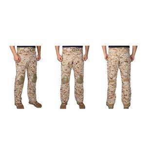 【ズボンのみ】 EMERSON製 CRYEタイプ コンバット迷彩服 戦闘服 AOR1 NAVY SEALs採用タイプ迷彩柄|million