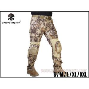 【ズボンのみ】 EMERSON製 CRYEタイプ G2 コンバット迷彩服 戦闘服 Highlander ハイランダータイプ迷彩|million