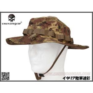 EMERSON製 ブーニーハット ジャングルハット 帽子 イタリアンフレック イタリアウッドランド迷彩|million