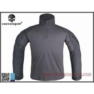【シャツのみ】 EMERSON製 G3 CRYEタイプ コンバット迷彩服 コンバットシャツ ウルフグレー Wolf Gray YKKジッパー使用 million