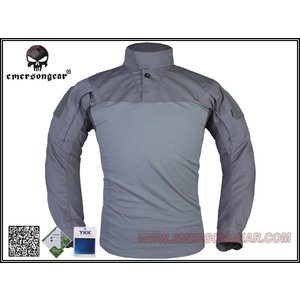 【シャツのみ】 上着単品 EMERSON製 アサルトシャツ 迷彩服 ウルフグリーン WG million