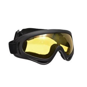 BWOLF製 GS823KA アサルトゴーグル シューティングゴーグル ゴーグル サバゲー 本体 黒 レンズ イエロー million