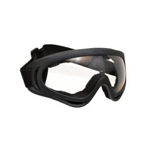 BWOLF製 GS823KA アサルトゴーグル シューティングゴーグル ゴーグル サバゲー 本体 黒 レンズ クリア million