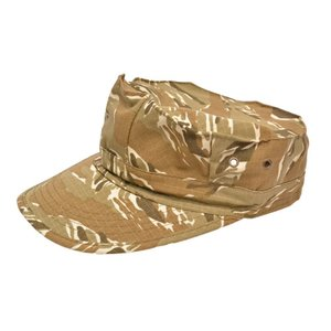 BWOLF製 ミリタリーキャップ 帽子 八角帽 デザートタイガーストライプ迷彩|million