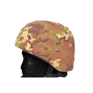 M88 PASGTタイプ フリッツヘルメット用 ヘルメットカバー イタリア軍迷彩 イタリアンフレック|million