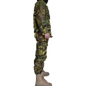 実写系迷彩 落葉迷彩 枯葉迷彩 迷彩服 戦闘服 上下セット パンツ&ジャケット バードウォッチングにも!|million|02
