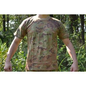 イタリア陸軍現用 イタリアンウッドランド フレックパターン 迷彩柄 Tシャツ|million