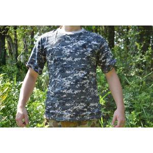 NWU 迷彩柄 Tシャツ 希少 デジタルパターン 合衆国海軍 US Navy USネイビー million