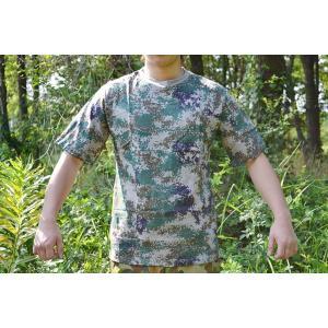 デジタルウッドランド ピクセルグリーン 迷彩柄 Tシャツ 米軍採用 USマリーン USMC 海兵隊 million