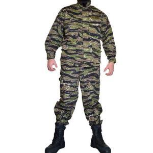 タイガーストライプII リザードパターン とかげパターン ワッペン付き 上下セット BDU 迷彩服 戦闘服 million