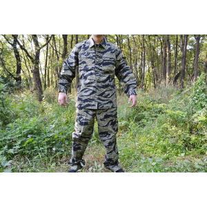 タイガーストライプ リザードパターン 迷彩服 上下セット 戦闘服 とかげパターン BDU million