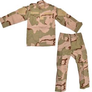 BWOLF製 迷彩服 戦闘服 上下セット 3カラーデザート迷彩 子供 女性用 小さいサイズ|million