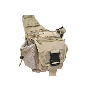 BWOLF製 MOLLEシステム ボディバッグ サイドバッグ ショルダーバッグ 斜め掛けバッグ 肩掛けバッグ ACU迷彩 million