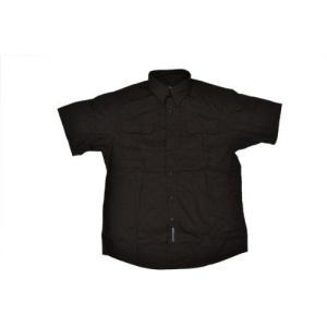タクティカルシャツ ミリタリーシャツ 半袖 BK ブラック 黒 黒色 million