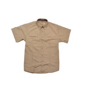 タクティカルシャツ ミリタリーシャツ 半袖 タンカラー million