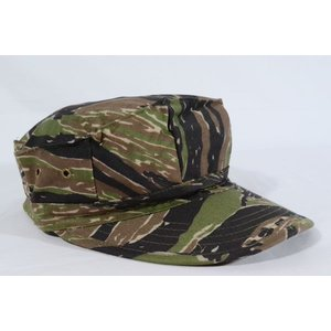 タイガーストライプ 迷彩柄 リザードパターン 八角帽 ミリタリーキャップ アメリカ軍 million