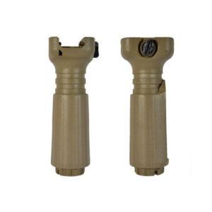 タンゴダウンタイプ バーティカル フォアグリップ ショートフォアグリップ 2WAYタイプ TAN AK47にも対応!|million