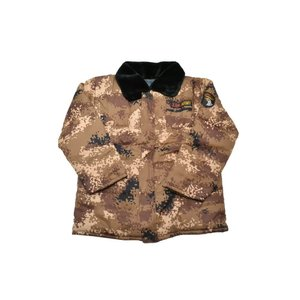 SW製 中綿 ジャンパー ジャケット ブルゾン ピクセルブラウン迷彩 日本サイズ S〜Mサイズ相当 million