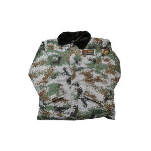 SW製 中綿 ジャンパー ジャケット ブルゾン ピクセルグリーン迷彩 日本サイズ S〜Mサイズ相当 million