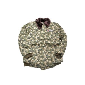 SW製 中綿 ジャンパー ジャケット ブルゾン ウッドランド迷彩 日本サイズ S〜Mサイズ相当 million