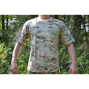マルチカモ MC 新型迷彩 丸首 Tシャツ アメリカ軍 採用迷彩 million