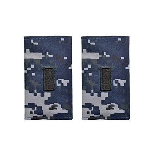 13 アメリカ海軍 肩章 階級章 中尉 ワッペン レプリカ NWU迷彩|million