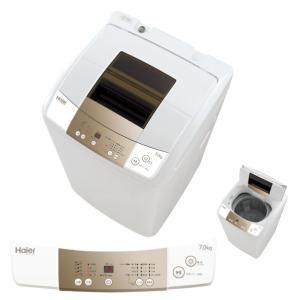 全自動洗濯機7.0kg ハイアールJW-K70M-W...