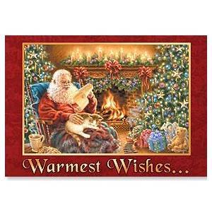 ■アーティスト:ドナ・ゲルシンガー ■二つ折りのクリスマスカード ■中の文字「...for a co...