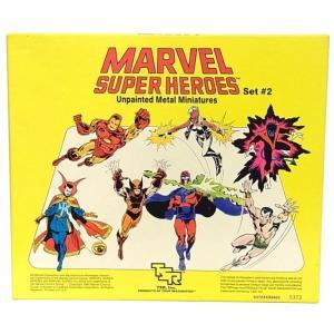 MARVEL SUPER HEROES SET ♯2 UNPAINTED METAL MINIATURES|mimiry-mary