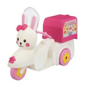 メルちゃん おうちへおとどけ!うさぎさんバイク|mimiy