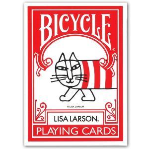 メール便 ネコポス可 トランプ バイスクル リサラーソン BICYCLE LISA LARSON|mimiy