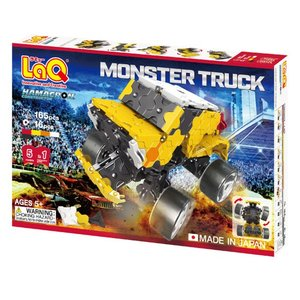 LaQ ハマクロンコンストラクター モンスタートラック|mimiy