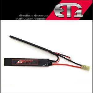 ET1 レッドライン LiPo 7.4V 1400mAh セパレートタイプ SOPMODバッテリーサイズにも対応 リポバッテリー mimiy