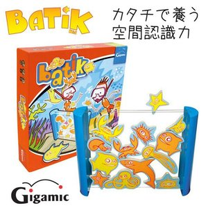【送料無料】ギガミック BATIK KID バティーク・キッズ 対戦ボードゲーム 脳トレ 陣取りゲーム|mimiy