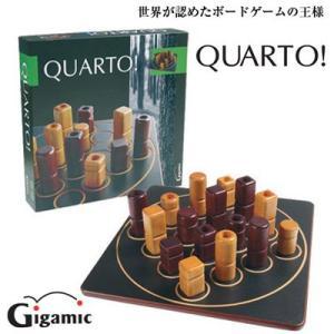 【送料無料】ギガミック QUARTO! クアルト パズル対戦ボードゲーム 木製玩具|mimiy