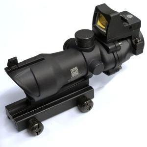 トリジコン ACOG TA-01タイプ 4×32スコープ + RMR type マイクロドットサイト M4 サバゲー サバイバルゲーム|mimiy