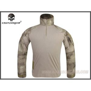 EMERSON エマーソン G3 Combat Shirt コンバットシャツ コンシャツ BDU A-TACS S M L XL サバイバルゲーム サバゲー 装備 ミリタリー 迷彩 長袖|mimiy
