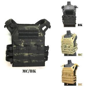 JPC ジャンパープレートキャリア タイプ ベスト BK DE MC MC/BK サバゲ 装備