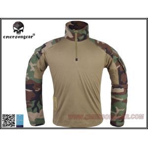 EMERSON G3 Combat Shirt コンバットシャツ コンシャツ WL ウッドランド S M L XL|mimiy