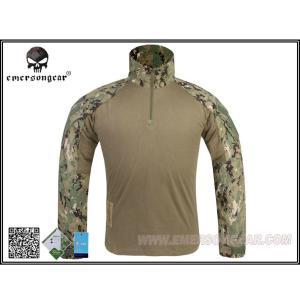 EMERSON G3 Combat Shirt コンバットシャツ コンシャツ AOR2 デジタル迷彩 S M L XL|mimiy