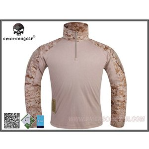 EMERSON G3 Combat Shirt コンバットシャツ コンシャツ AOR1 デジタル迷彩 S M L XL|mimiy