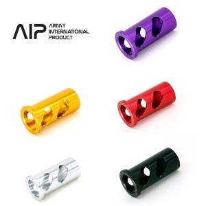 AIP アルミニウム ハイキャパ Hi-capa 4.3 リコイルスプリングガイドプラグ ブラック シルバー ゴールド レッド パープル|mimiy