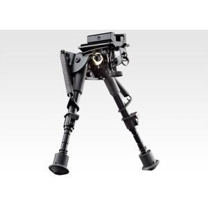 東京マルイ アキュラシーバイポッド 20mmレイル 対応 M40 VSR L96 二脚 ハリスタイプ 折りたたみ 可能|mimiy