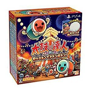 PS4 太鼓の達人 セッションでドドンがドン! 同梱版(ソフト+「太鼓とバチ for PlayStation 4」1セットつき)|mimiy