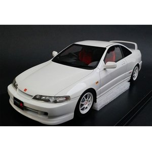 onemodel 1/18 ホンダ インテグラ タイプR DC2 ホワイト Honda Integra Type-R DC2 Early Version White|mimiy